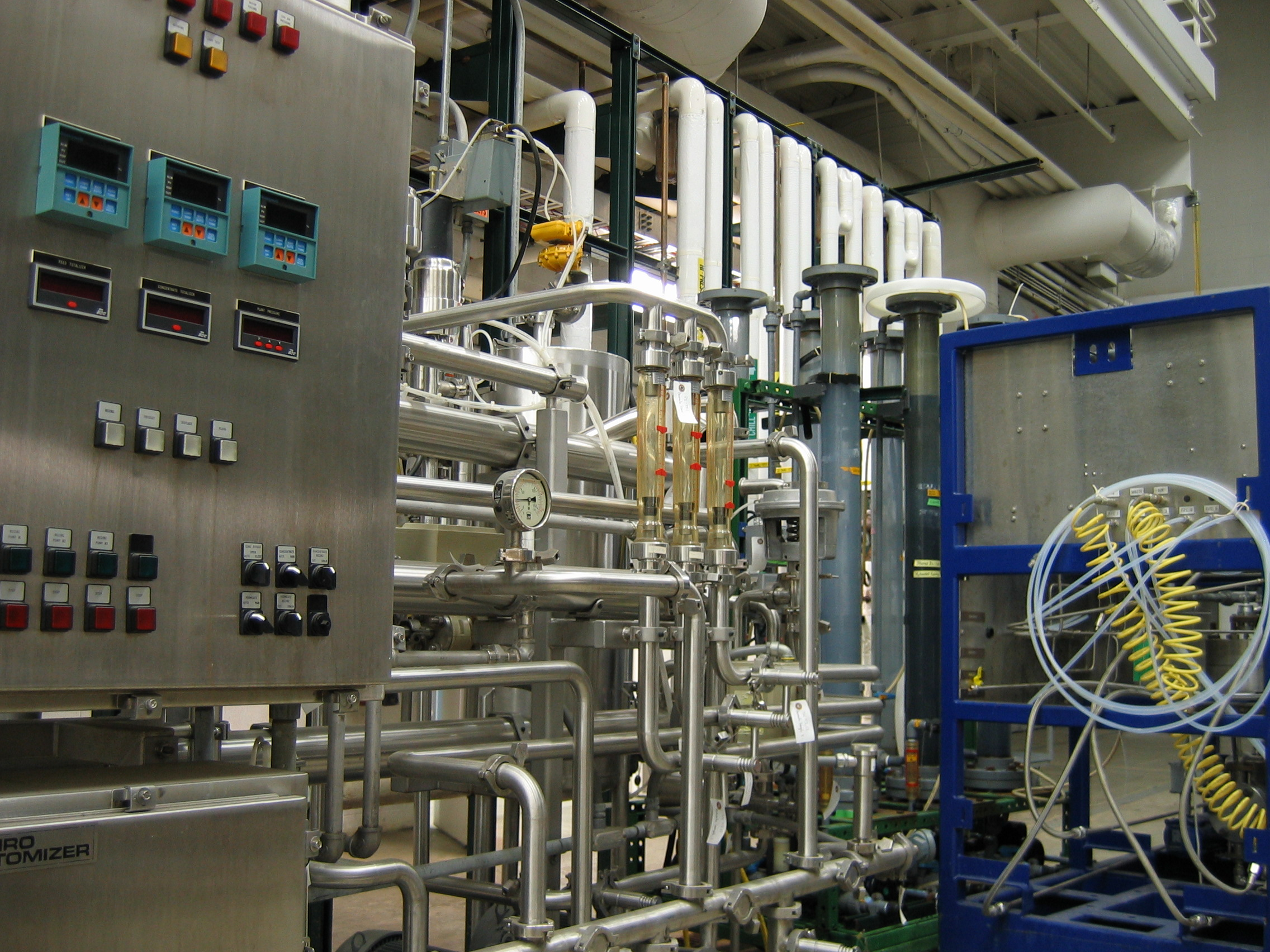 Fermentation equipment in plant