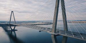 Scenic photo of main bridge in Charleston SC